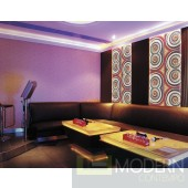 Exterior and Interior  Glue on Wall HD 3d Surface Panel.- 6 Circles