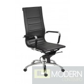 OWEN HIGH BACK OFFICE CHAIR BLACK