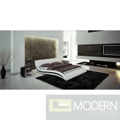 J213 - Contemporary Eco-Leather Bed