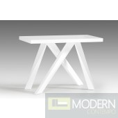 Modrest Vanguard Modern White Console Table