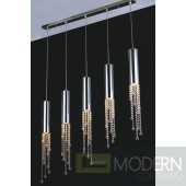Modrest KR002P-5A Modern Crystal Pendant Light