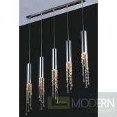 Modrest KR002P-5A Modern Crystal Pendant Light