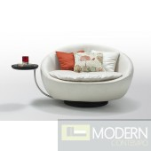 Modern White Round Leisure Chair