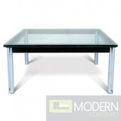 Lc10 Coffee Table 27 Cube, Clear