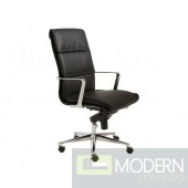LEIF HIGH BACK OFFICE CHAIR BLACK