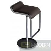Lem Bar Stool Chair, Brown