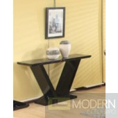 Modrest Libra Modern Black Marble Console Table