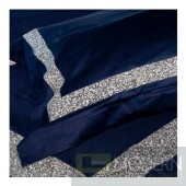 Auriel Blue Duvet Cover Set with crystals KING