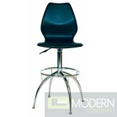 Lily Leather Barstool