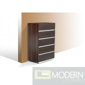 Modrest Luxor Modern Ebony Lacquer Chest