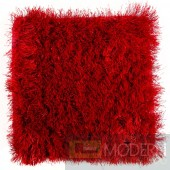 Modrest Mantova Modern Red Small Area Rug