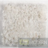 Modrest Mantova Modern White Large Area Rug