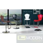 Mariah - Modern Leather Bar Stool