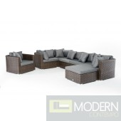 Renava Martinique Outdoor Sectional Sofa Set