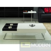 Megara Coffee Table with Removable Leather Tray