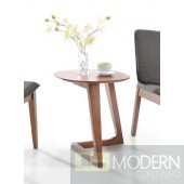 Jett Modern Walnut End Table