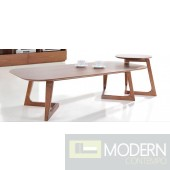 Jett Modern Walnut Coffee Table