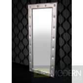 Modrest Monte Carlo Transitional Platinum Floor Mirror