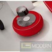 Modrest N215 - Modern Red Leatherette Nightstand