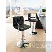 Zuo Modern Henna Bar Chair - Black 100612