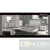 Live White Bed - Made in Italy