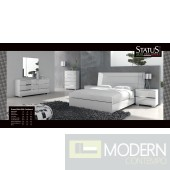 Dream White Bed - Made in Italy