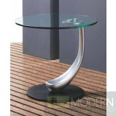 Paige Glass Side Table