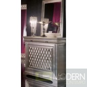 Phedra Silver Chest 3 Drawers