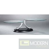 Phoebe Moving Glass Coffee Table