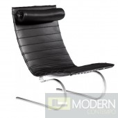 Pika 20 Lounge Chair, Black