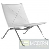 Pika 22 Lounge Chair, White