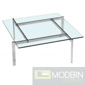 Pika 61 Coffee Table, Clear