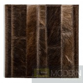 Modrest Pinal Modern Leather Small Area Rug