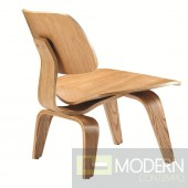 Plywood Lounge Chair, Natural