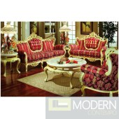 3PC High end Classic Provincial Victorian Sofa Loveseat Chair Living room ZP609