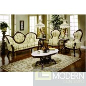 3PC High end Classic Provincial Victorian Sofa and 2 Armchairs Living room ZP606