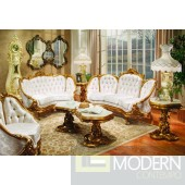 3PC High end Classic Provincial Victorian Sofa Loveseat Chair Living room ZP634