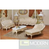 3PC High end Classic French Provincial Living room Sofa Loveseat Chaise ZP642