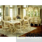 Traditional Formal Victorian HighEnd wood Dining Room Table only, with Set ZP701