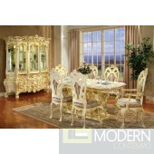 Traditional Formal Victorian HighEnd wood Dining Room Table only, with Set ZP755