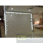 Star - Exterior and Interior PVC Glue on Wall 3d Surface Panel. 12 panels 32.29 sf