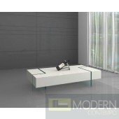 Riva Coffee Table with Tempered Glass Base