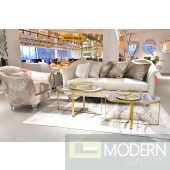 Studio Rodeo Beige Living Room Set by Michael Amini