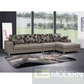 Rolani Fabric Three Seater Sectional