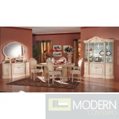 Modrest Rossella Traditional Dining Set Made in Italy