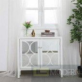 "36"" Bradford mirrored cabinet White"