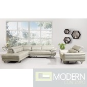 Modern Leather Sectional Sofa Living Room Couch Set TBQS8906-7