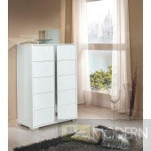 Modrest San Marino Modern White Chest