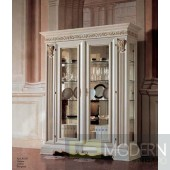 San Marco White Dining Display Cabinet II
