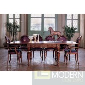"San Marco Dark Walnut Extendable Dining Table, 94"""